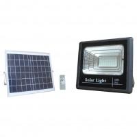 40W LED solārais prožektors + saules panelis