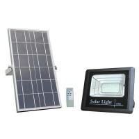 20W 1800Lm LED prožektors ar saules paneli