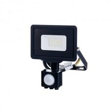 10W LED sensor prožektors, IP65, 120°, 1600Lm
