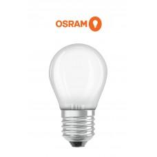2.5W, E27 matēta LED spuldze, 2700K, Osram