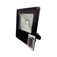 30W LED RGB prožektors ar kontrolieri, 1800Lm, 150°, IP66 - FL5212