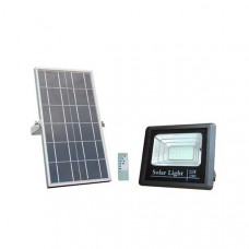25W LED Solar Powered Floodlight + Solar Panel