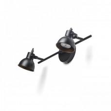 "Spotlampa ""ROSITA II"" 2x GU10 max. 9W, balta vai melna"