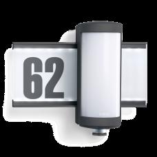 L-625-LED sensorlampa ar 360°, 7m kustības sensoru un 10W LED, STEINEL