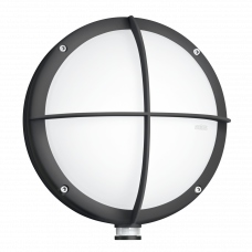 L 331 LED, apaļas formas 9W āra sensora lampa STEINEL
