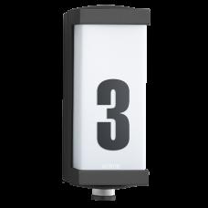 L 666 LED āra sensorlampa ar 360°, 7m sensoru un 9W LED jaudu, STEINEL