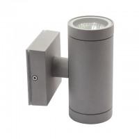 Fasādes gaismeklis BART, 2 x JDR Gu10, max. 35W, IP54, alumīnijs